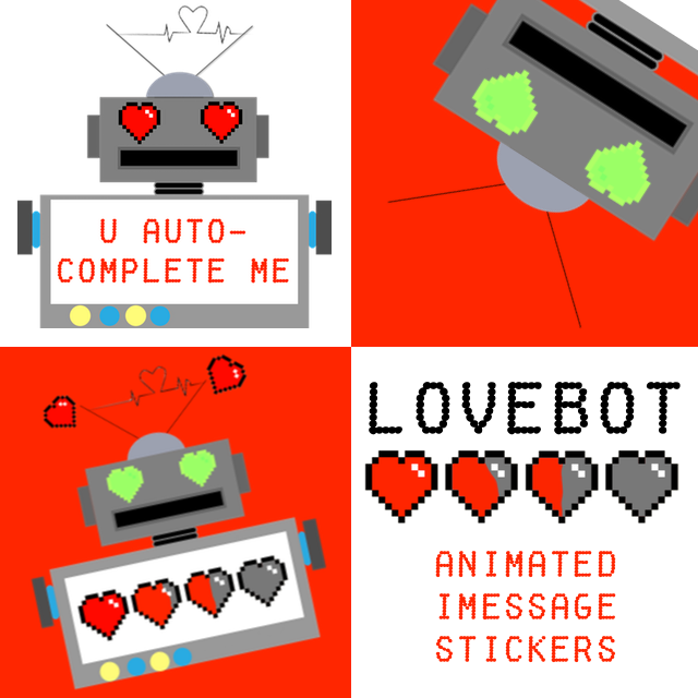 LoveBot: Animated Stickers for iMessage