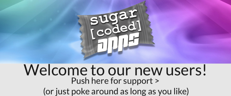 Sugar Coded Apps support.